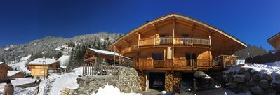 Photo for Comfortable chalet in the heart of Beaufortain