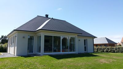 Photo for New contemporary house with wifi 5 minutes from Honfleur