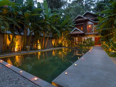 Photo for WAT PO HOUSE , private pool villa in siem reap