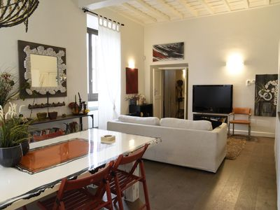 Photo for Casa dell'Orologio - Elegantly furnished apartment in the historic center