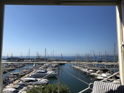Photo for Amazing Sea View Apartment in Golfe-Juan