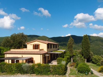 Photo for Apartment for 4 people in Tuscan farmhouse in nature 15 'from the sea.