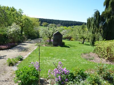 Photo for Charming holiday cottage - Views and amazing garden in middle of Morvan