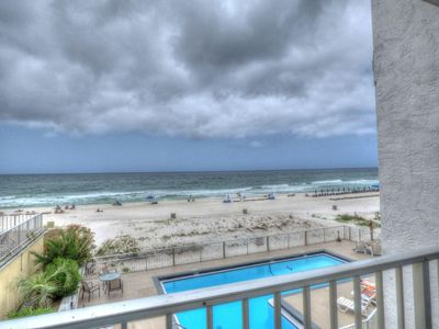Photo for Pet Friendly Gulf Views On the Beach Steps Away 2nd Floor Private Deck