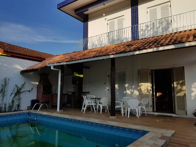 Photo for Townhouse with pool and capacity for 16 people near the beach
