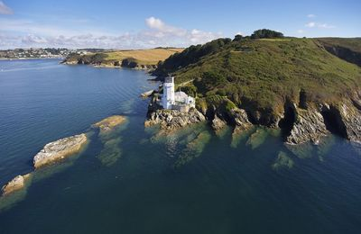 Photo for Situated at the furthest point of the beautiful Roseland Peninsula. The lighthouse is still operatio