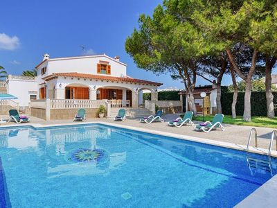 Photo for 5 bedroom Villa, sleeps 9 with Pool, FREE WiFi and Walk to Beach & Shops