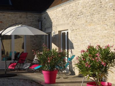 Photo for 3BR Cottage Vacation Rental in Banville, Normandie