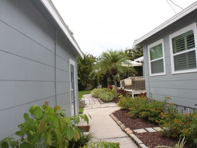 Photo for Fantastic 3Br/2Ba Sunset Beach Cottage, 1 block from beach.