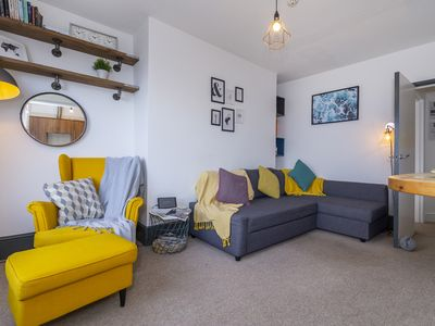 Photo for **Seaview Apartment** - Stunning Margate Apartment with direct Sea Views