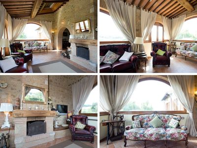 "Photo for ""Casa Sandro"" in Podere Pascianella Val d'Orcia - with big private garden"