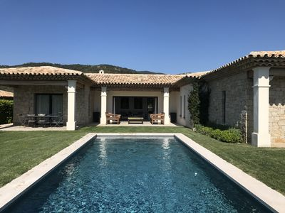 Photo for Neo-Provencal villa / contemporary 4 bedrooms 4 bathrooms swimming pool