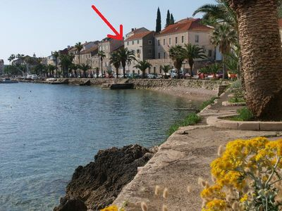 Photo for 2BR Apartment Vacation Rental in Korcula, Island Korcula