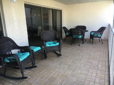 Photo for Updated 2 Bedroom Condo with Large Balcony, 5 minute walk to beach