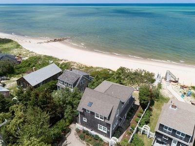 Photo for Steps to Beach- Ocean views- A/C- WiFi- Private-Welcome to Moonbeams On The Bay!