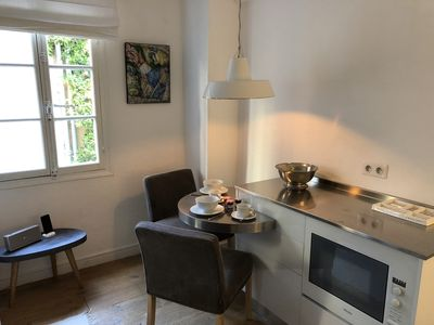 Photo for Luxury studio, in a quiet lane, in the heart of the old town of St Tropez