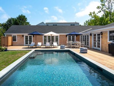 Architect-Renovated Edgartown Cape With Pool