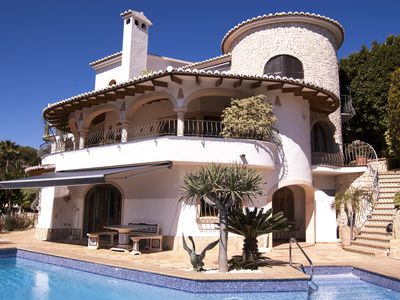 Photo for Fantastic sea view Villa with large pool, lots of privacy and close to beaches