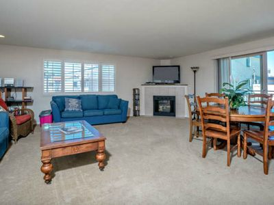 Photo for Spacious View Home overlooking Mission Bay - 2000 square feet!