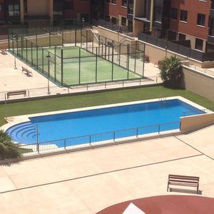 Photo for Comfortable very bright apartment with large terrace and pool