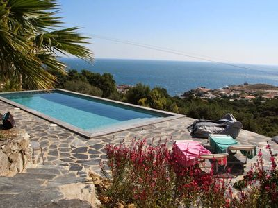 Photo for Port de la selva In the heart of nature house, swimming pool, large plot and beautiful view