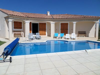 Photo for Air Conditioned Villa With Private Pool And Panoramic Views