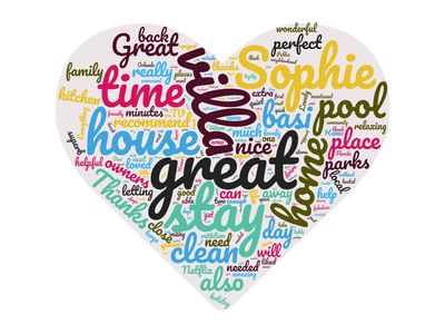 Wordcloud of our review comments