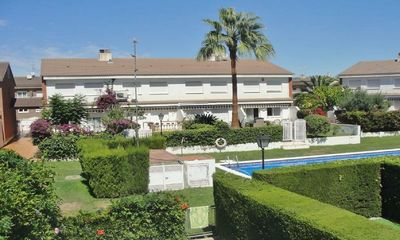 Photo for VILLA PAU- 500m BEACH, 2 POOLS, A/A, WIFI