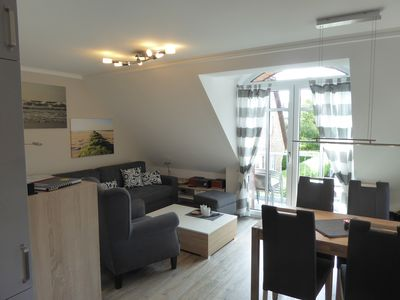 Photo for Beautiful, beachfront, very well equipped apartment in Westerland