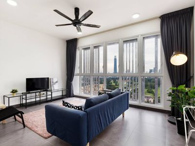 Photo for Charming 3BR Suite with Spectacular Views of KLCC!