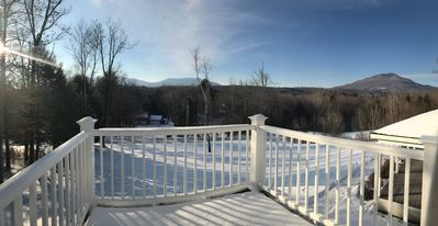 Photo for NEW! Manc. Ctr. Guest House w/ Balcony & Mt. Views Minutes from Stratton & Brom.
