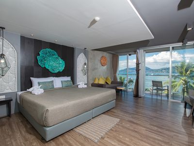 Photo for K deluxe double room with seaview and bath