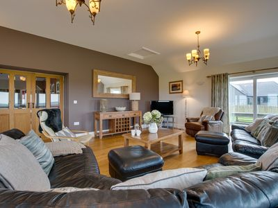 Photo for Hendy Iago is set in farmland with sea views less than a mile from an idyllic sandy cove and 3½ mil