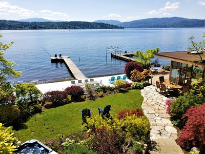 Photo for Spectacular Luxury Waterfront Home Near Microsoft