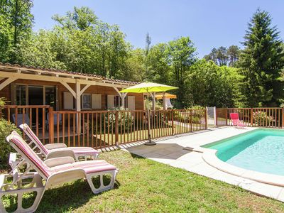 Photo for Modern Chalet in Neuvic with Private Swimming Pool