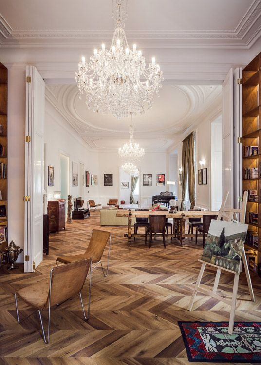 Luxury Downtown Apartment Built In 1900 - EVITA with Madonna shot here