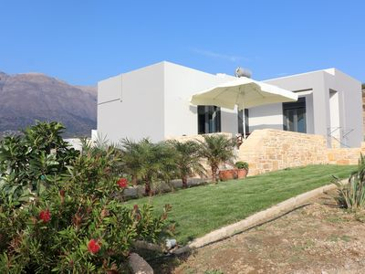 Photo for Vast view of landscape and sea,wifi, 4 pers. | holiday home Triopetra, Crete