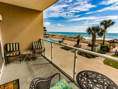 Photo for Waterfront home at the beach w/ a shared pool, fitness center, & sundeck