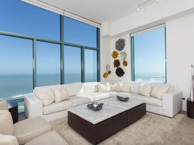 Photo for Extraordinary breathtaking Beach Front 3 bedroom 3 bathroom Penthouse