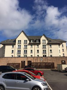 Photo for Central Oban Two bedroom apartment with lift access and private parking