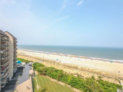 Photo for H810: MINI-WEEKS! 2BR+den Sea Colony Oceanfront condo! Private beach, pools, tennis & more!