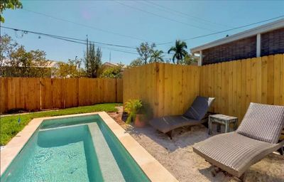 Photo for ADORABLE AND CHARMING WITH BRAND NEW PRIVATE HEATED POOL AND GREAT RATES!! BOOK YOUR 2020 STAY TODAY!