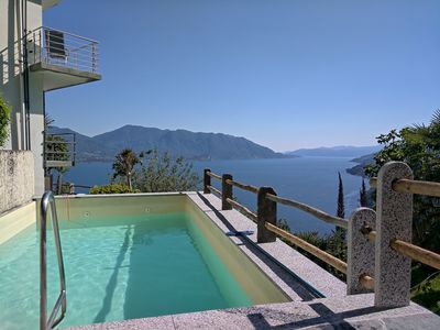 Photo for Holiday Home with Private Pool - Family Vacation - Lake Maggiore - Italy