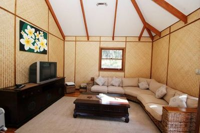 Lounge Area in the Main Living Pavilion