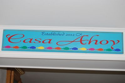 WELCOME TO CASA AHOY!