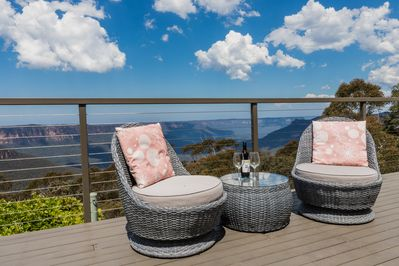 The Cloud9 private deck
