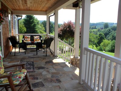 Photo for PURE INDULGENCE! Luxurious Mtn Home w/HotTub, PoolTable, WiFi, Privacy, Views