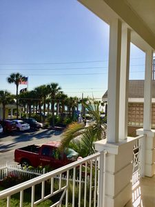 Photo for Gulf & Bay Views - Across From Beach - Walk to Bridge Street Restaurants & Shops