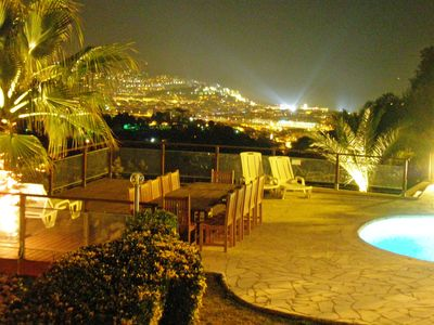 Photo for Only 2 miles from centre of Nice, Panorama views, Heated Pool, Big Garden,