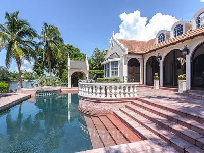 Photo for Port Royal home offers gracious living in lovely 7500 sq. ft. home on a canal